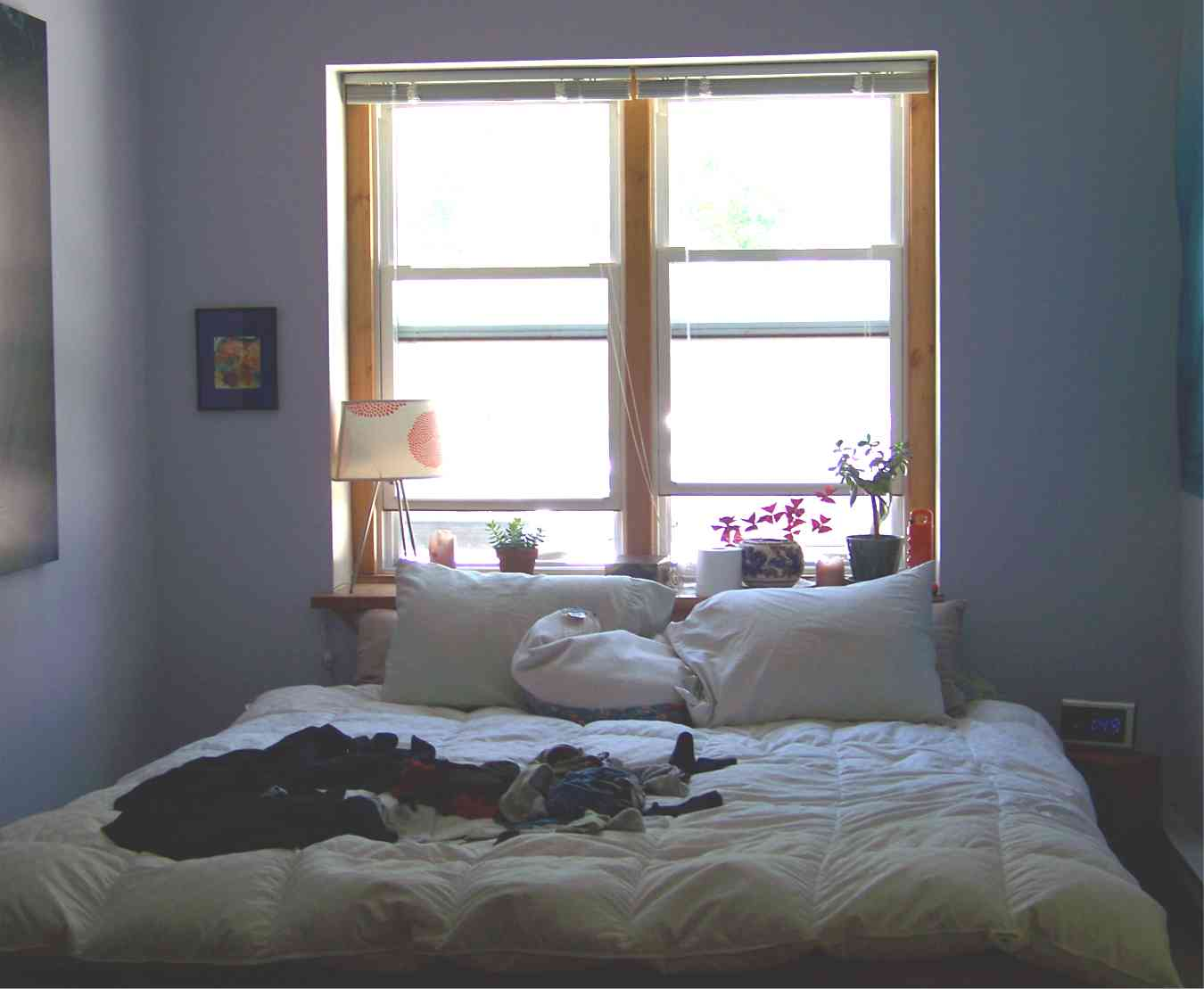 Allen's Landing Winooski VT Sunny Bedroom With Large Windows